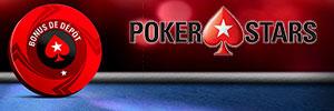 Bonus 1er dépot pokerstars
