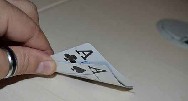Listing des main au poker