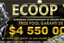 Championnat Européen de Poker en Ligne (ECOOP V)