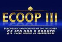 ECOOP 3 :Championnat d'Europe de Poker