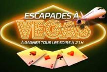 Escapades à Vegas avec Party poker