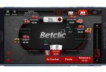 Application mobile BetClic Poker
