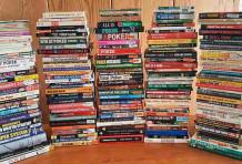 Les livres consacrés au poker